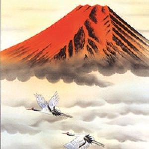 画像2: 開運掛軸 赤富士 東村