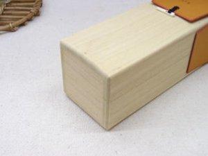 画像1: 高級掛軸用桐箱 16寸5分